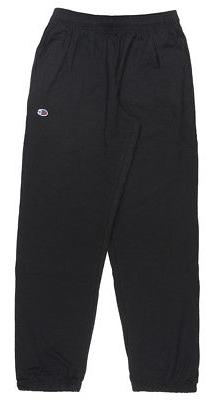 CHAMPION CLASSIC JERSEY SWEATPANTS ATHLETIC PANTS MENS BLACK
