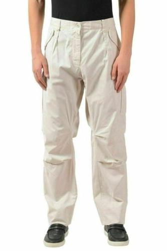 dolce and gabbana men s ivory cargo