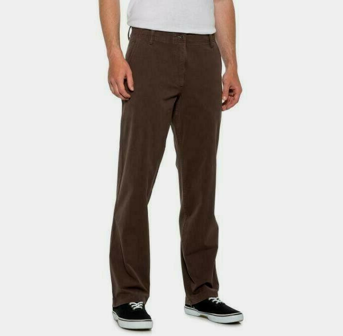 DOCKERS Khaki Classic 360 Stretch Smokey