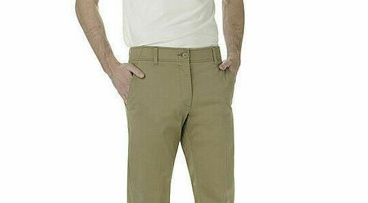 LEE Extreme Comfort Pants Straight Fit Flex Waist Stretch NWT