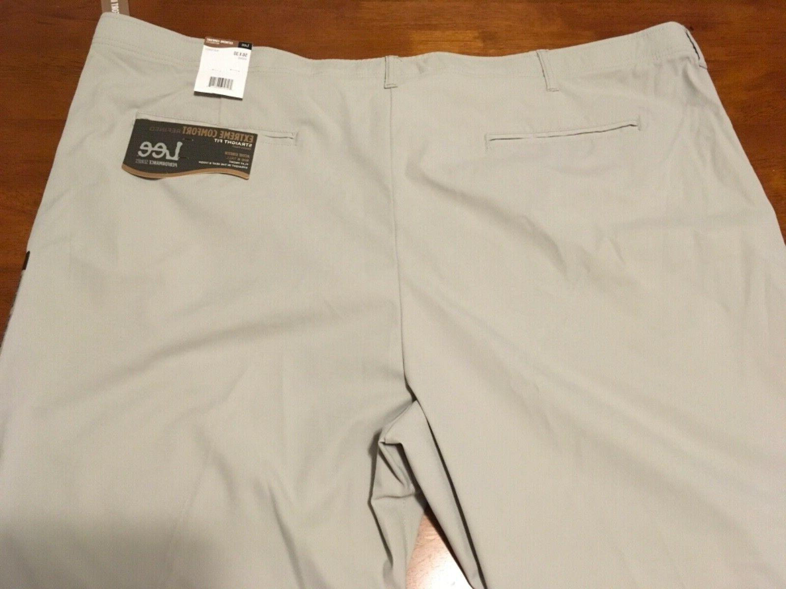 Lee Comfort Mens Pants Active Stretch 56x30