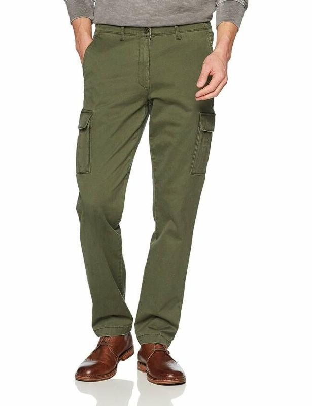 Goodthreads Men's Standard Straight-fit Vintage Cargo Pant