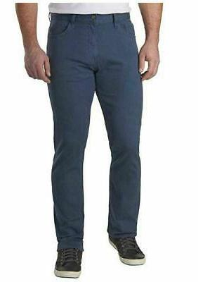 Calvin Stretch Straight Leg Cotton Twill