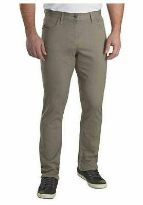 Calvin Jeans Stretch Straight Twill Pants