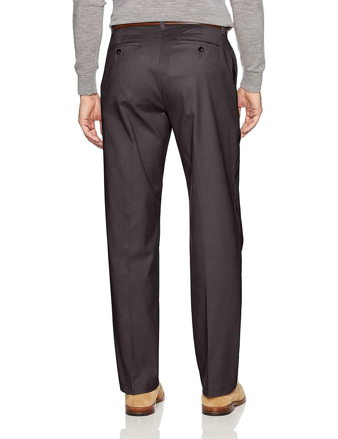 LEE Stretch Fit Flat Front