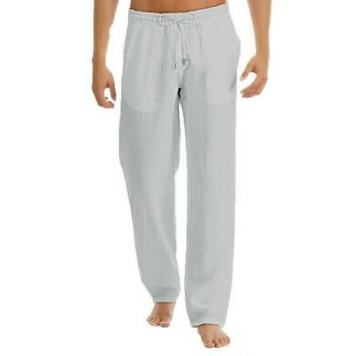 Linen Pants Summer Casual Loose Solid