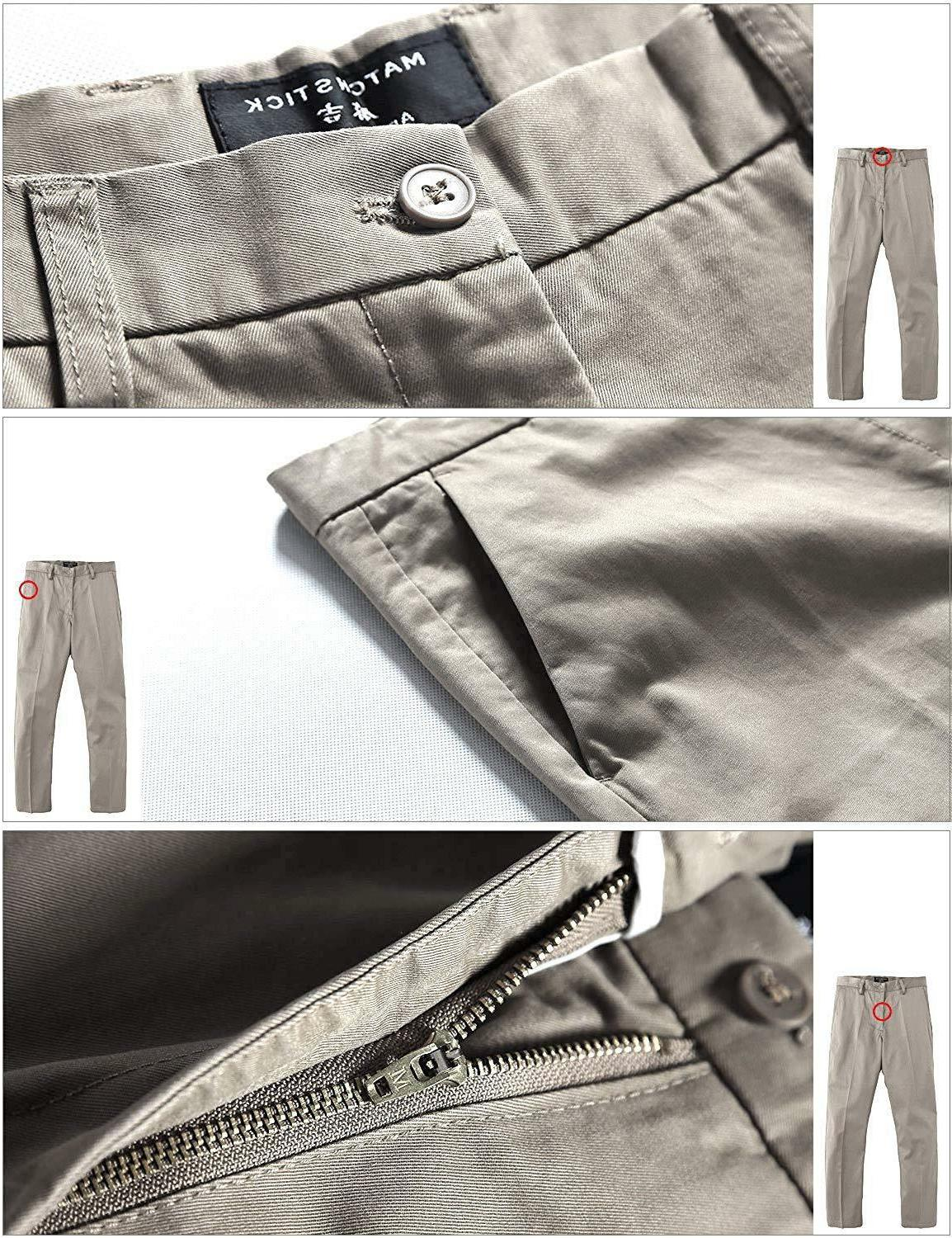 Match Fit Straight Casual Pants M1#8079