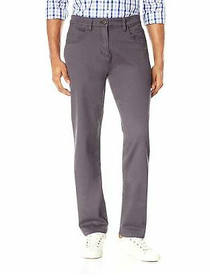 men s athletic fit 5 pocket chino