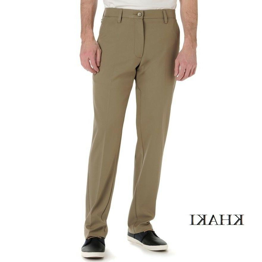 Clearence Mens Lee Carefree No Iron Tailored Straight-Fit St