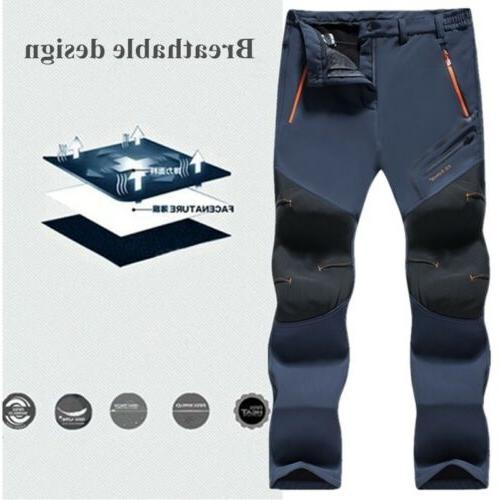 Men Outdoor Pants Waterproof Sports Trousers Quick Dry Botto