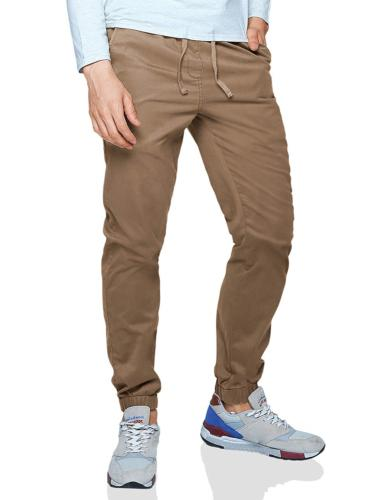 Match Men's Loose Fit Chino Washed Jogger Pant 32, 6535 Khak