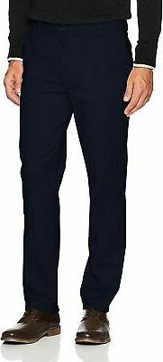 IZOD Men's Saltwater Stretch Flat Front Straight Fit Chino P