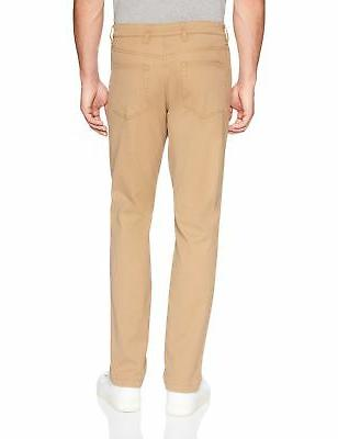 Goodthreads Men's Slim-Fit 5-Pocket Chino Pant Khaki x 32L