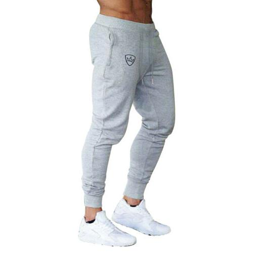 Men Slim Tracksuit Sport Gym Skinny Jogging US
