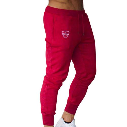 Men Slim Sport Jogging Joggers Sweat US