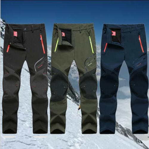 Men's Waterproof Hiking Pants Outdoor Sport Trousers Trekkin