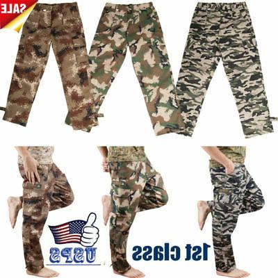 Camping Army Combat Camouflage Pants Casual