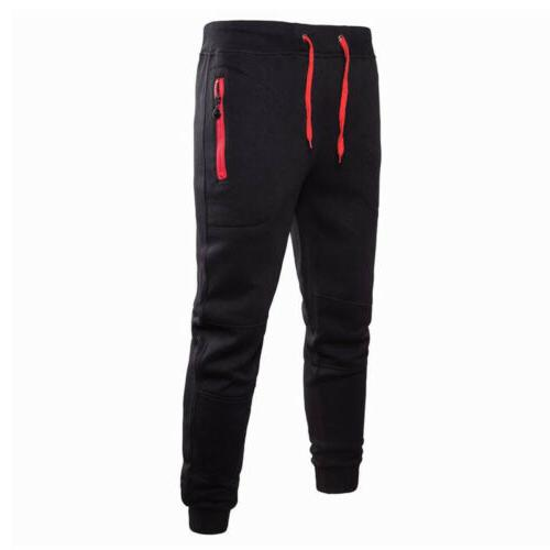 Men Sport Pants Trousers Tracksuit Joggers