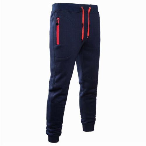Men Sport Trousers Tracksuit Workout Joggers Gym