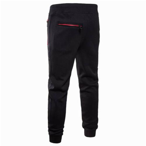 Men Trousers Tracksuit Joggers Gym Sweatpants