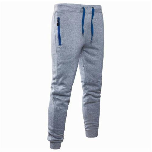Men Sport Long Trousers Joggers