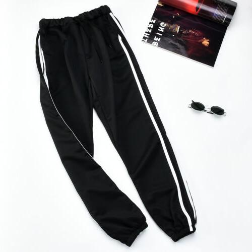 Mens Tracksuit Sport Jogging Joggers Sweat Pants Trousers St