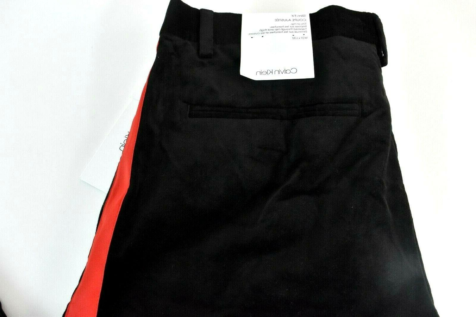 Calvin Pants New 33 38 Velvet Stripe Fit