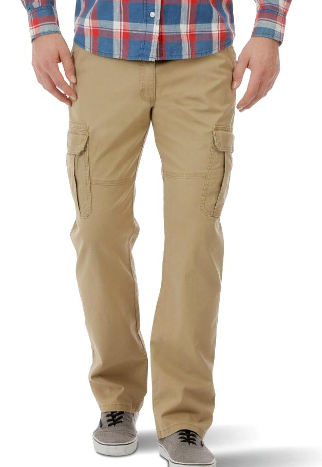 mens cargo pants w flex relaxed fit