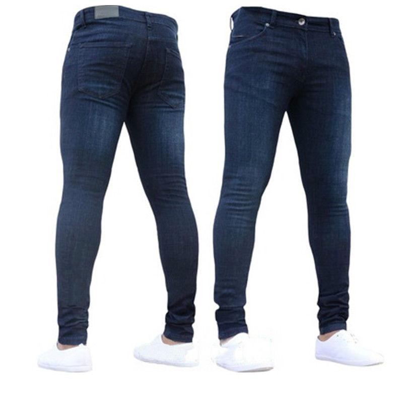MENS SUPER STRETCH JEANS TROUSERS & SIZES