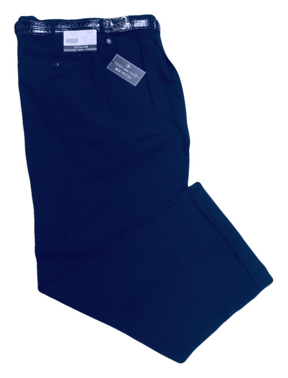 Mens Dress Pleated - Trousers - 28 to 42