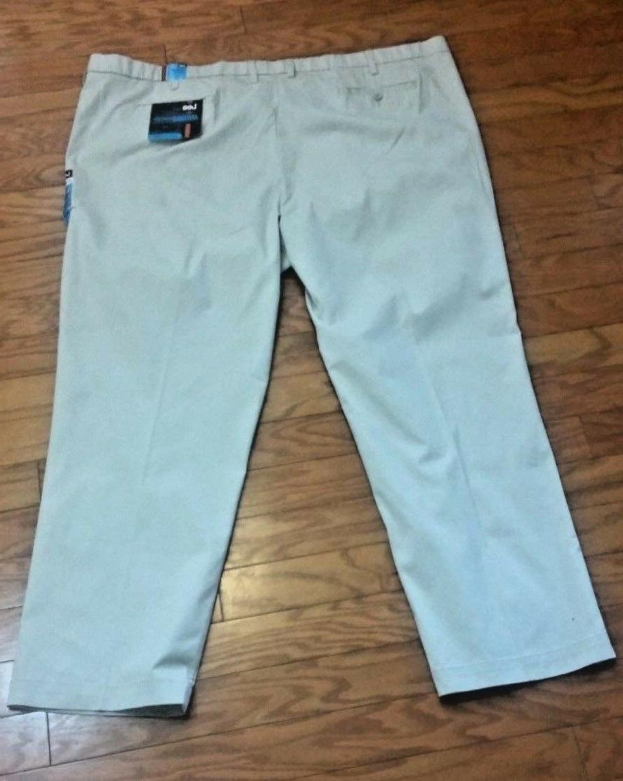 Mens Khaki Pants Beige Motion Comfort Fit Price