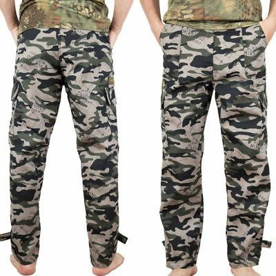 Camping Hiking Army Combat Military Men's Camouflage Pants Casual