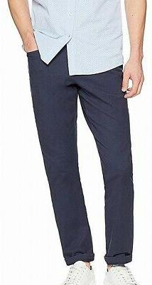 Goodthreads Mens Pants Navy Blue Size 33x29 Flat Front Chino