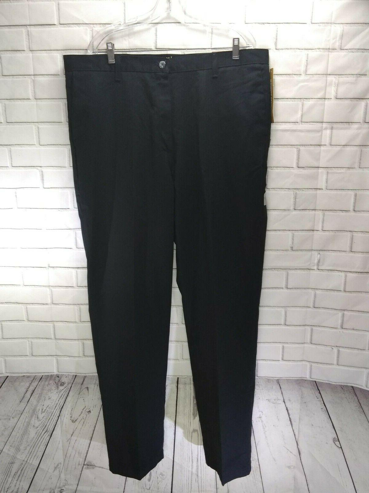 Lee Mens Size 40 x Resist Relaxed Black Pants