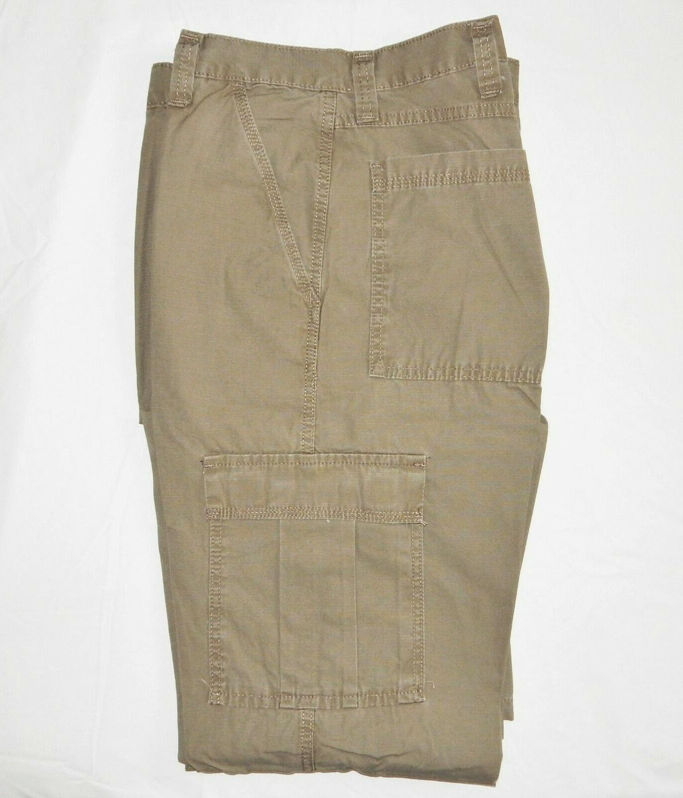 Mens Pants Relaxed Khaki