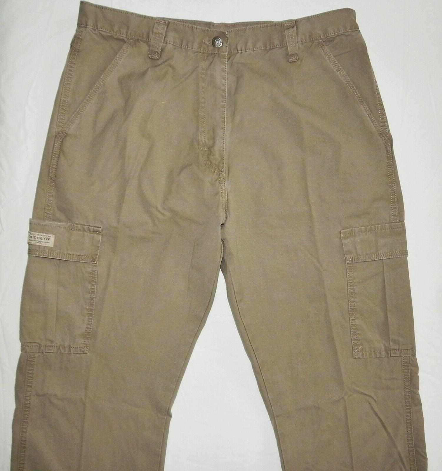 Mens Wrangler Cargo Pants SIZES Relaxed