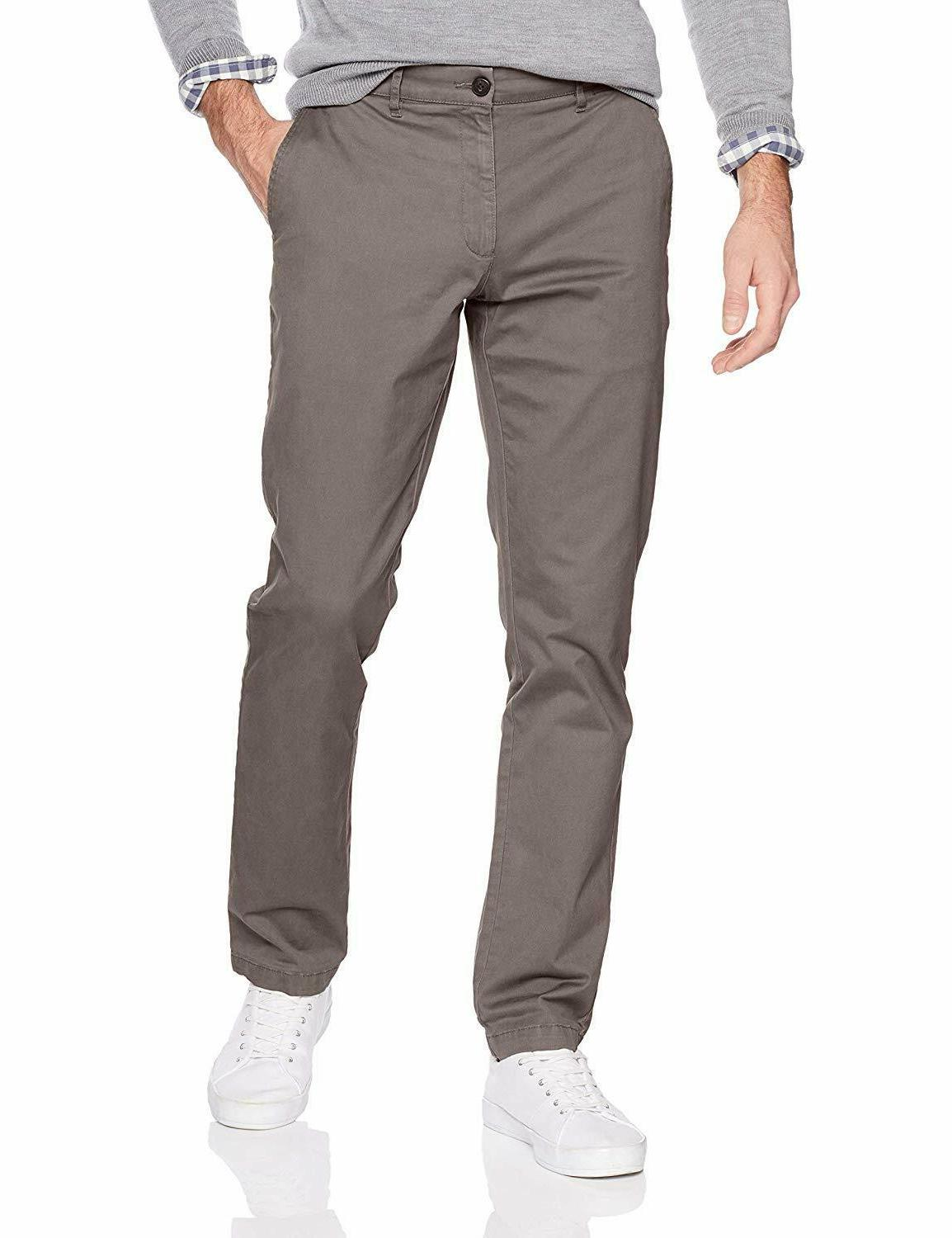 mens slim fit chino pants washed comfort