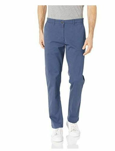 mens slim fit washed stretch chino pant