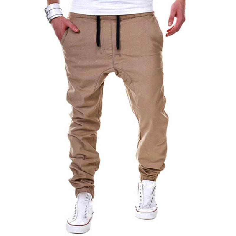Mens Sport Long Trousers Fitness