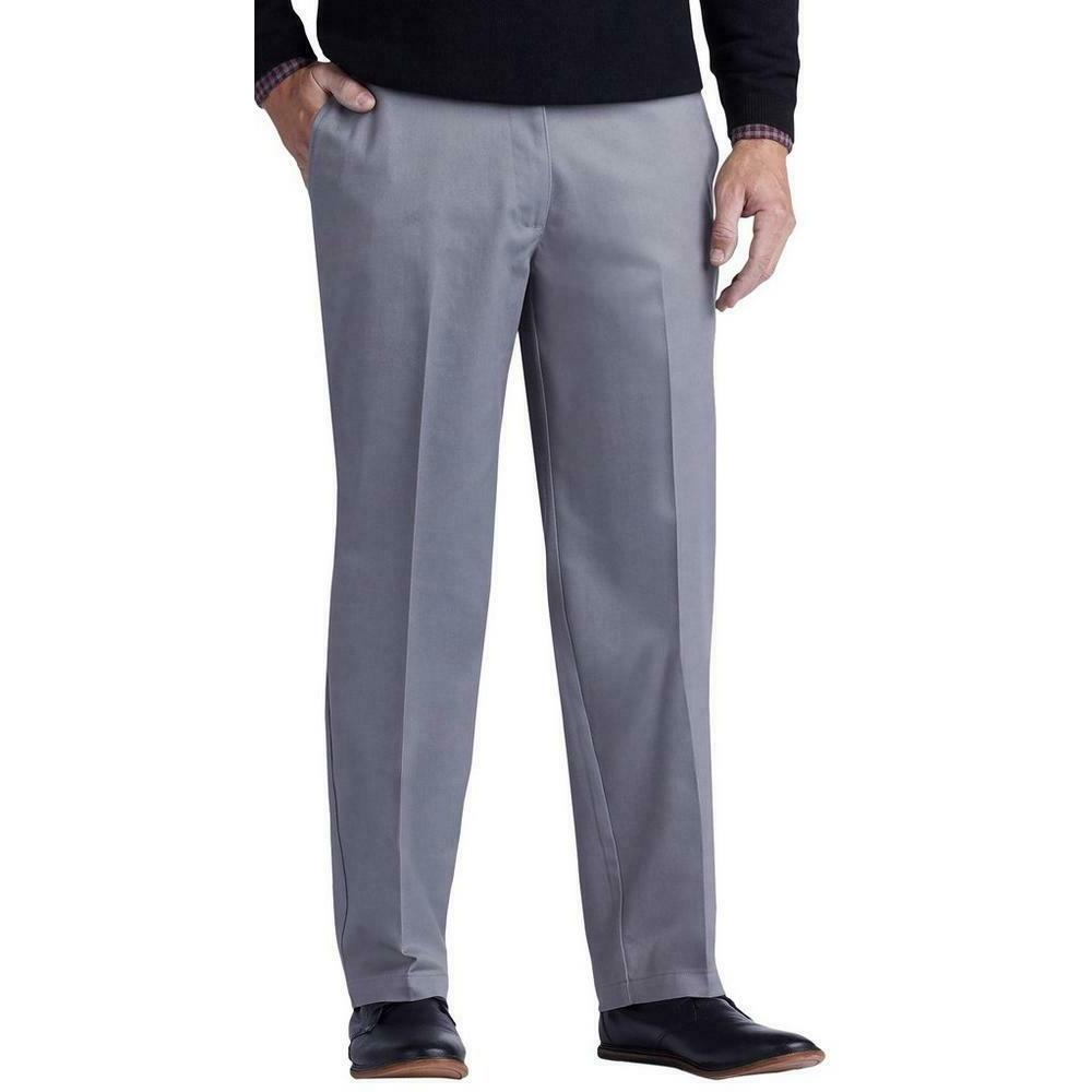 LEE Mens Total Freedom Straight Fit Flat Front PANTS  38x34