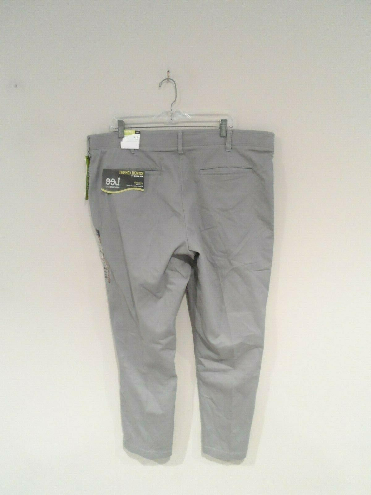 NEW Men's Comfort Pants Size Relaxed Fit 4276506