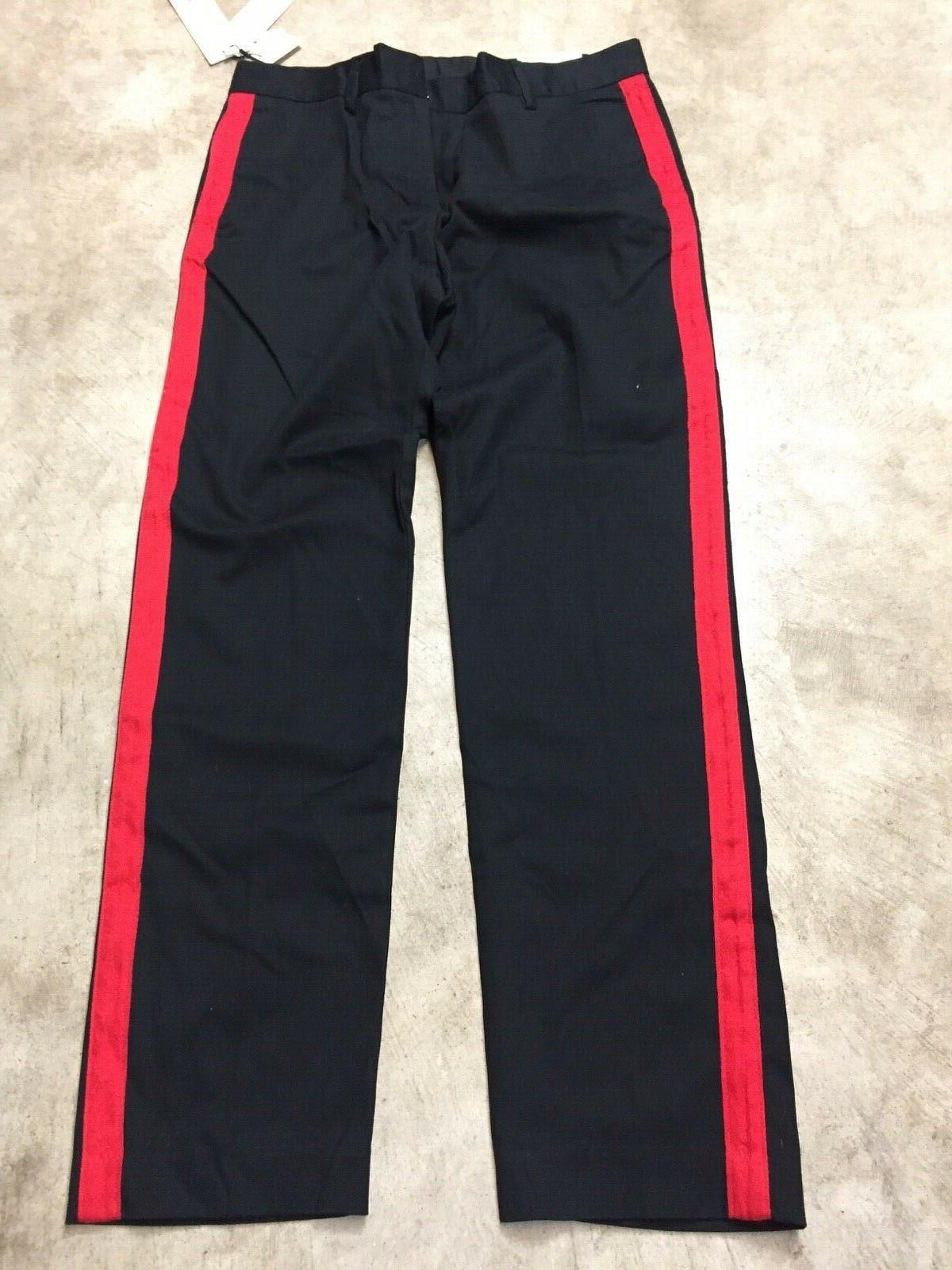 NEW pants red stripe
