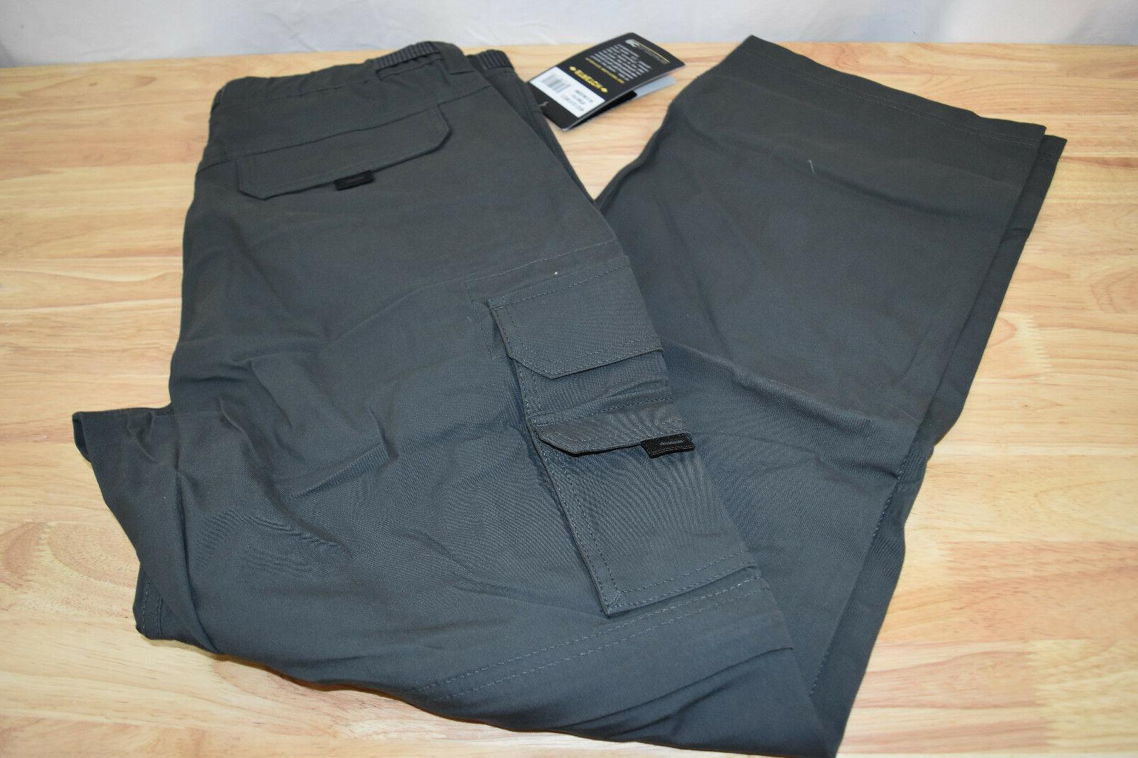 NWT Convertible Cargo Shorts Stretch VARIETY!