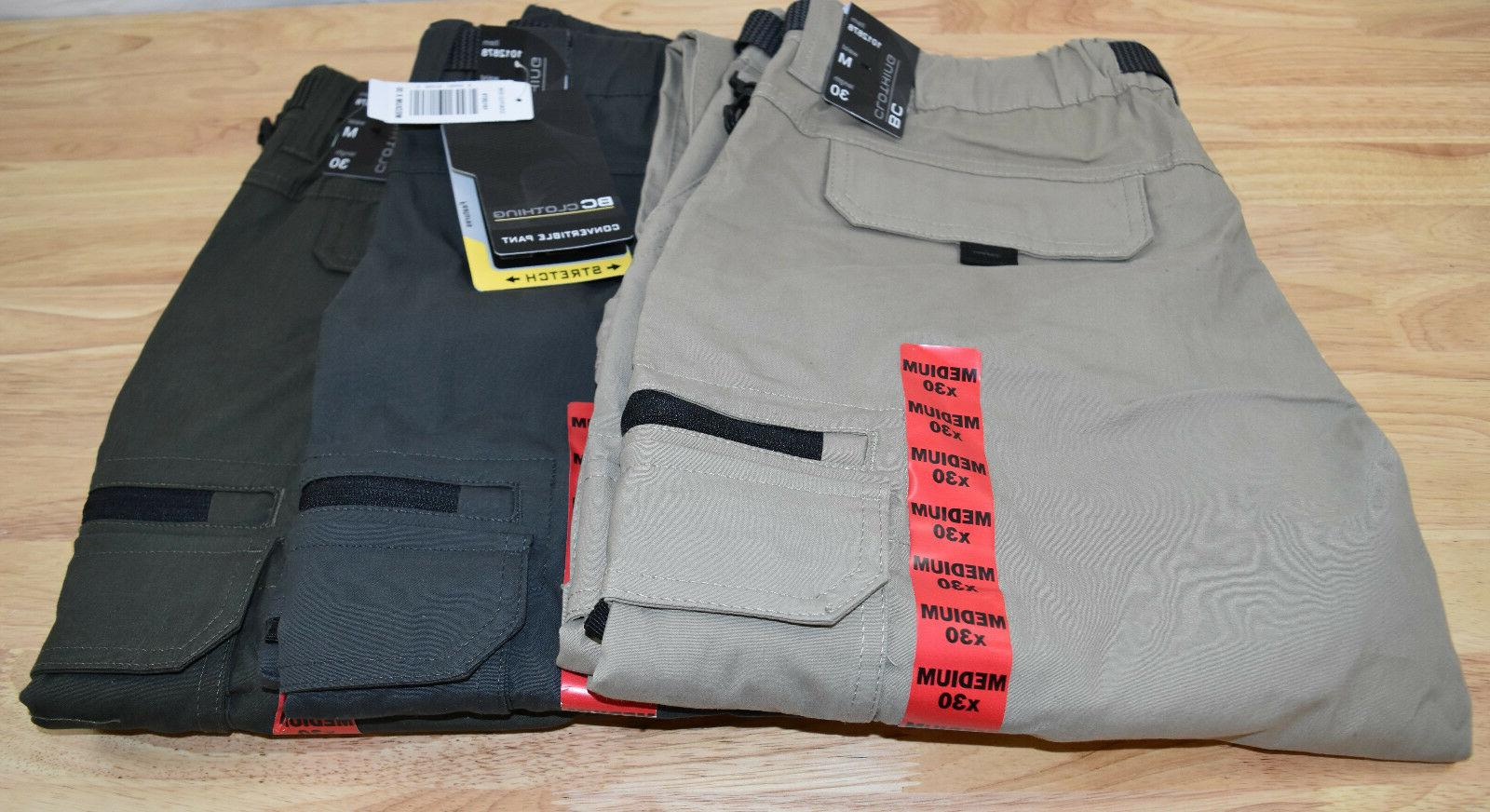 nwt men s convertible cargo hiking pants