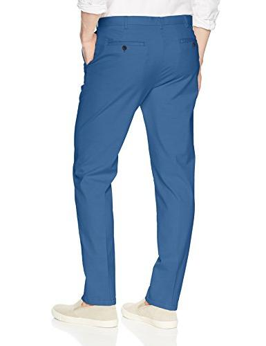 IZOD Men's Saltwater Front Chino Federal Blue, 36W x 32L