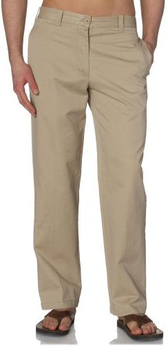 IZOD Men's Saltwater Flat Front Classic Fit Chino Pant, Ceda