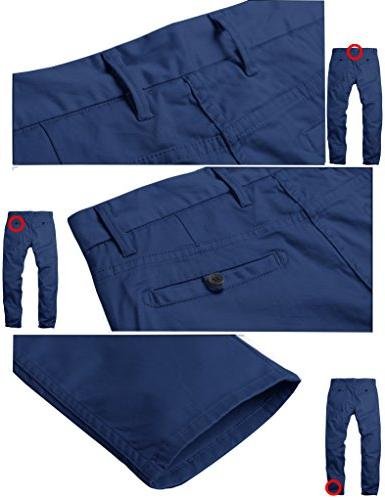 Tapered Stretchy Casual Pants