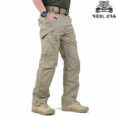Soldier Tactical Waterproof Pants Combat Hiking Outdoor