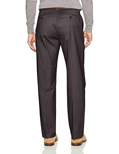 LEE Total Stretch Relaxed Front Pant, Charcoal, x