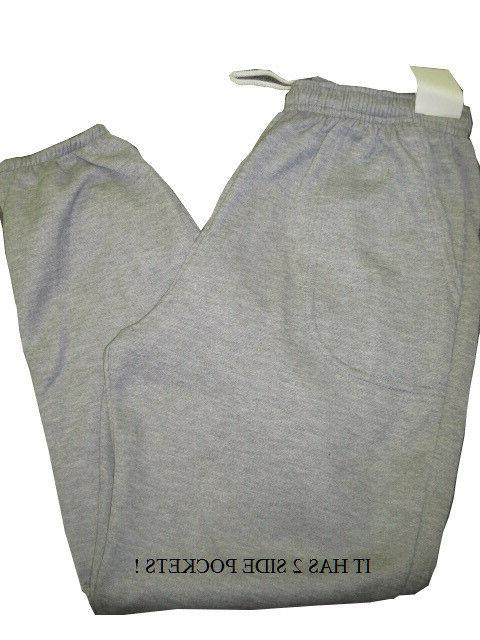 NEW 3 POCKET SWEATPANTS GYM WORKOUT SWEAT PANTS